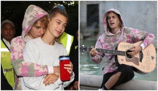 Жастин Бибер гудамжны хөгжимчин болжээ