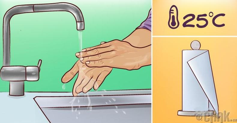 Гарынхаа арьсыг гэмтээхгүйгээр зөв угаах аргачлал