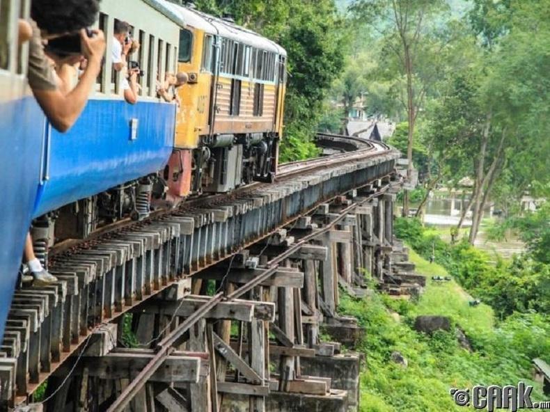 Үхлийн төмөр зам, Тайланд