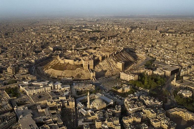 Алеппогийн бэхлэлт - Сири