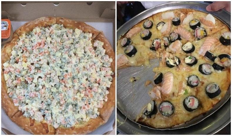 """Пиццаны """"заяа гомдмоор"""" хачирхалтай бөгөөд хөгжилтэй дүр зургууд"""