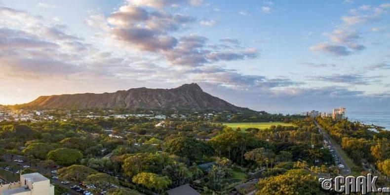 Оаху, Хавай: Далайн эрэг дээрх амтат зоог