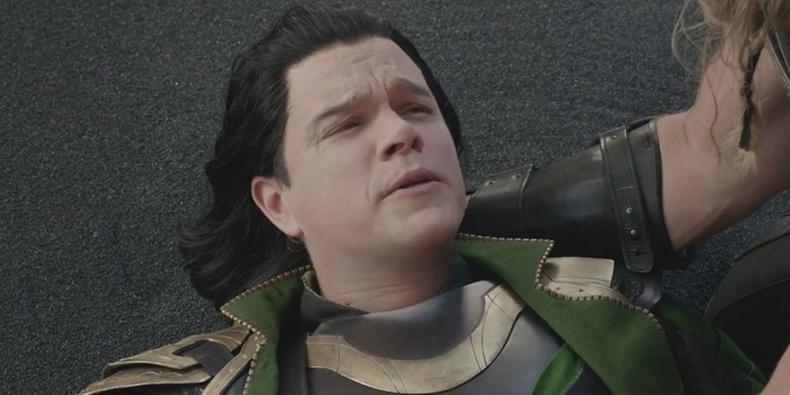 """Мэт Дэмон (Matt Damon) - """"Thor: Ragnarok"""""""