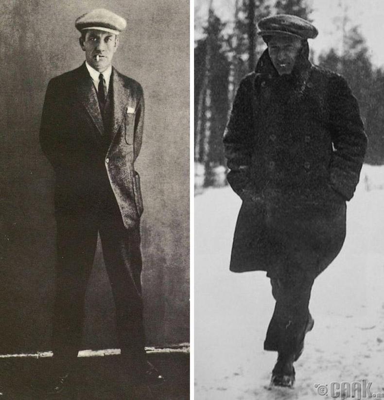 Владимир Маяковский, Борис Пастернак - 189 см