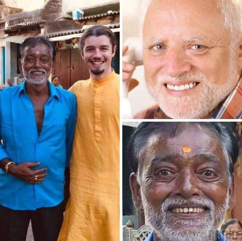 """Интернет """"meme""""-ний эзэн Харолдын Энэтхэг хувилбар олдсон нь"""