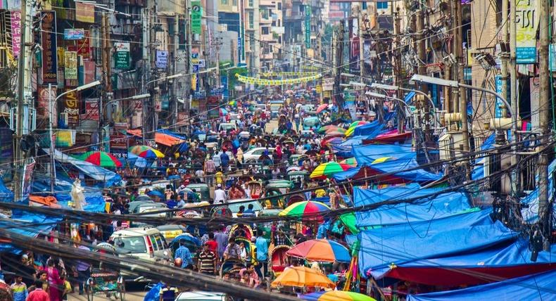 Бангладеш, Дакка хот