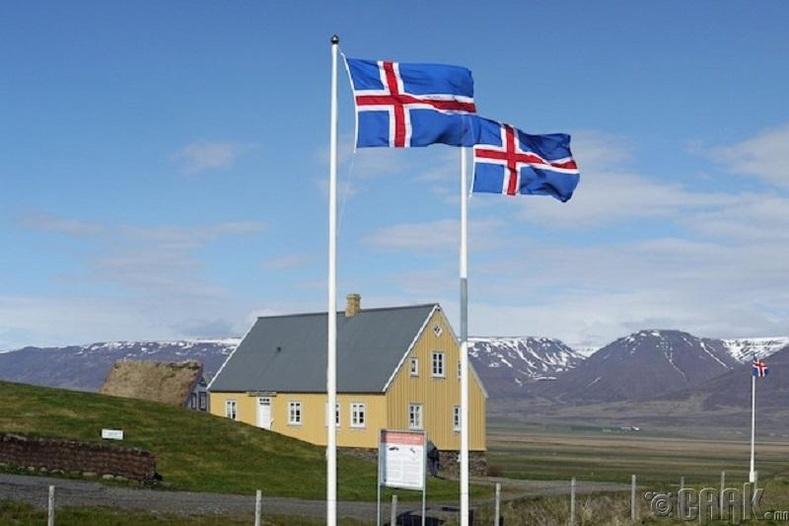 Исланд (дундаж IQ: 101)