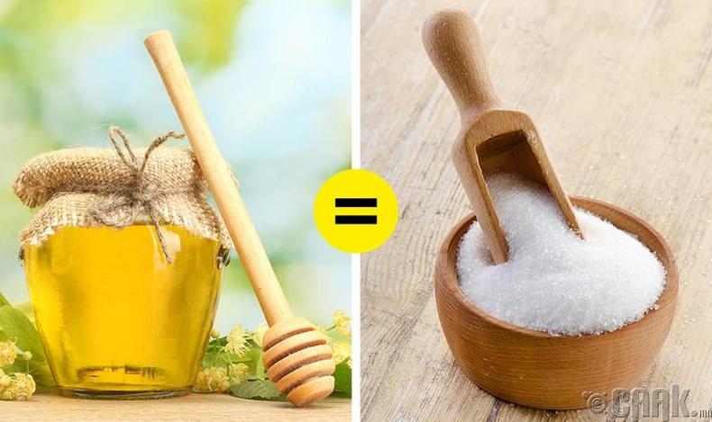 Зөгийн балыг элсэн чихэрийн оронд хэрэглэх үү