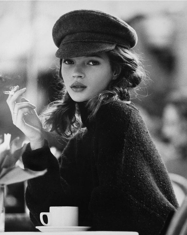 Кейт Мосс, 1991 он.