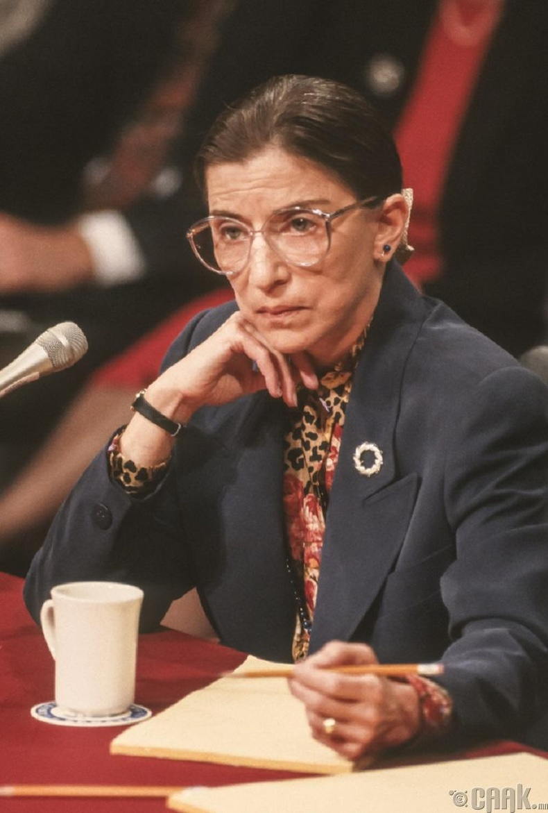 Рут Бейдер Гинзбург - Эмэгтэйчүүдийн эрхийг хамгаалагч, шүүгч