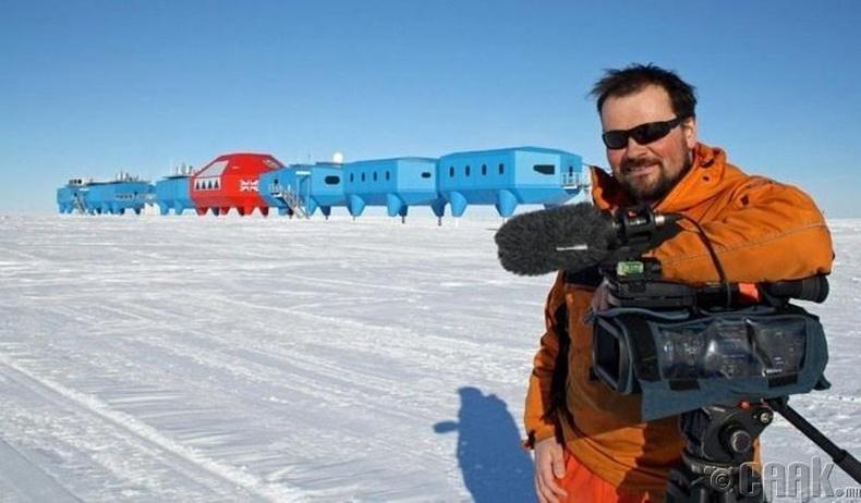 """2012 оны """"South of Sanity"""" хэмээх аймшгийн киноны зураг авалтыг Антарктидад хийгдсэн"""