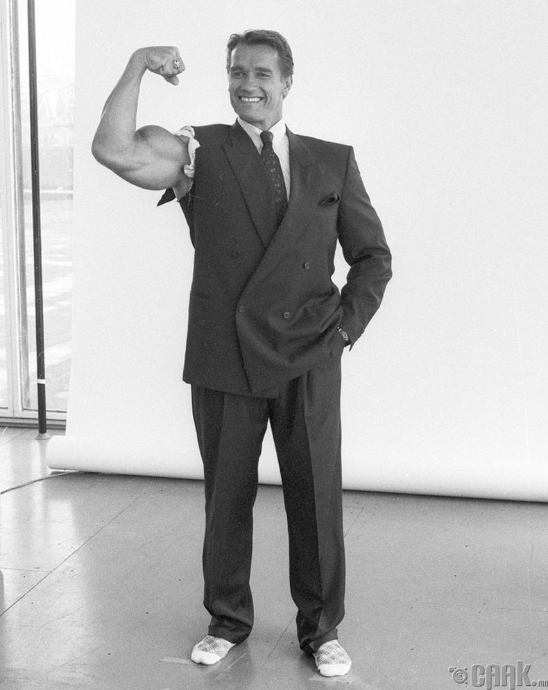 Жүжигчин Арнольд Шварценеггер (Arnold Schwarzenegger) -1986 он