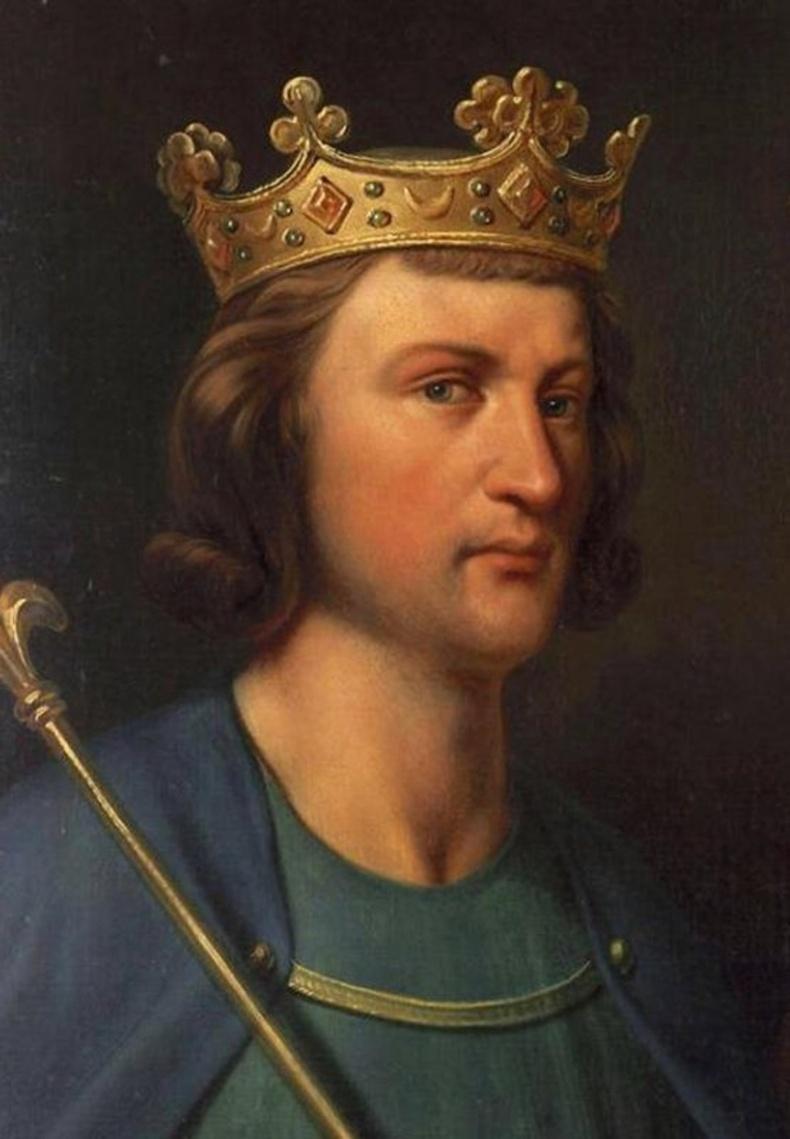 Францын хаан 3-р Луй - Хадуураар толгойдоо цохиулснаас болж үхсэн