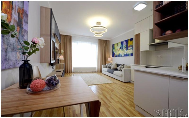 Стандарт 1 өрөө орон сууцны танилцуулга: 34мкв стандарт 1 өрөө орон сууц