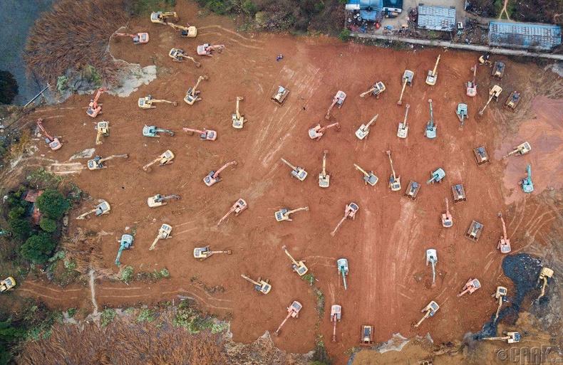 Барилгын талбайд 35 экскаватор, 10 бульдозер ажилласан