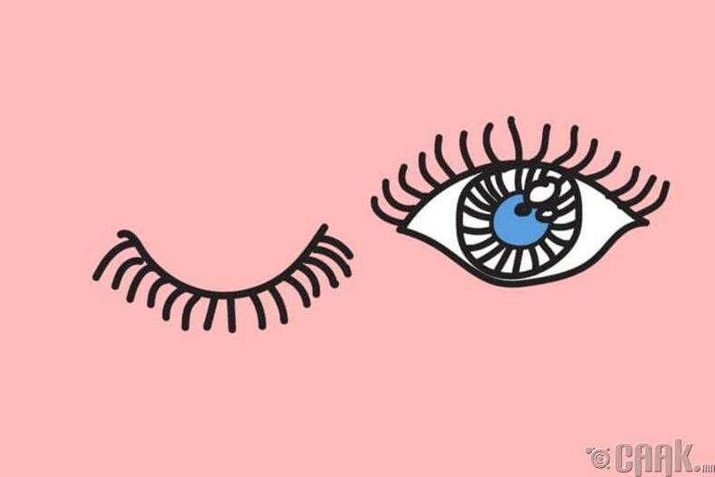 Нүдээ анивчдаг