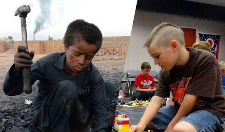 """Дэлхийн хүмүүс """"эрс тэс"""" хоёр өөр ертөнцөд амьдардгийг гэрчилсэн зургууд"""