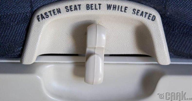 Онгоцны суудал дахь өлгүүртэй тавцан