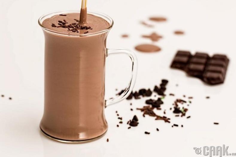 Шоколадтай смүти
