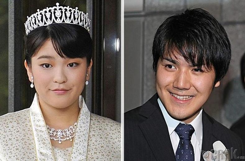 Японы гүнж Мако хайрынхаа төлөө хаан ширээнээс татгалзжээ