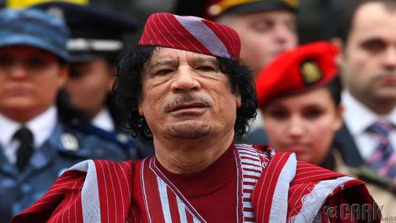 Муаммар Каддафи -  212 тэрбум ам.доллар