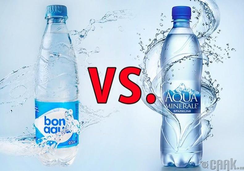 """""""BonAqua"""" vs. """"Aqua Minerale"""""""