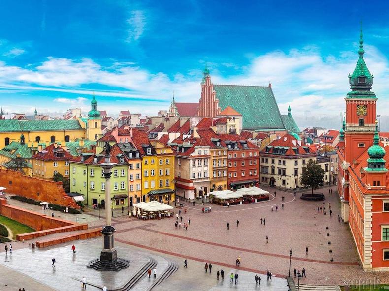 Варшав, Польш (Warsaw, Poland)