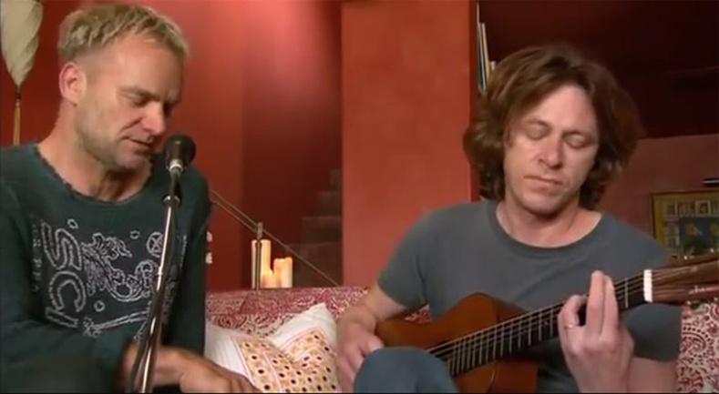 """""""Sting"""" хамтлаг """"Shape of My Heart"""" дуугаа амьдаар нь гайхалтай дуулжээ"""