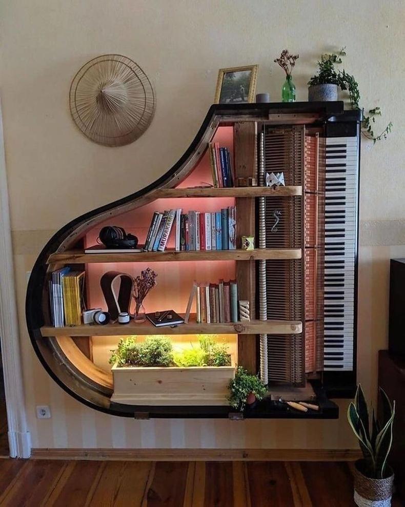 Төгөлдөр хуур мэт номын тавиур