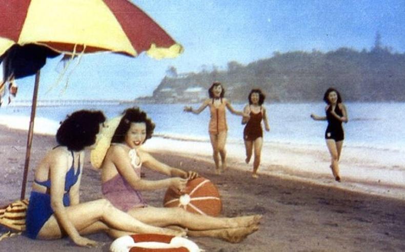 2-р дайны дараах Япон орны өнгөт зургууд (35+ фото)