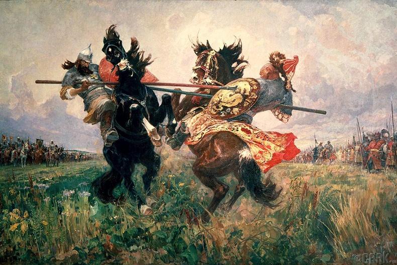 Ногай улс задарч, ноёд дээдэс нь Оросын хаанд зүтгэсэн нь