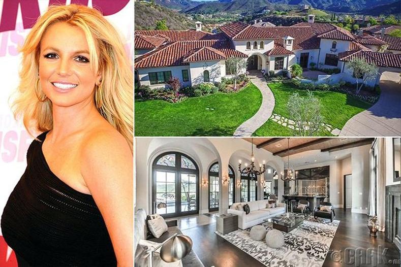 Бритни Спирс - 9 сая ам.долларын үнэтэй эдлэн