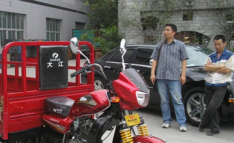 Хятадын хөдөө нутагт дэлгэрээд буй сонирхолтой унаа