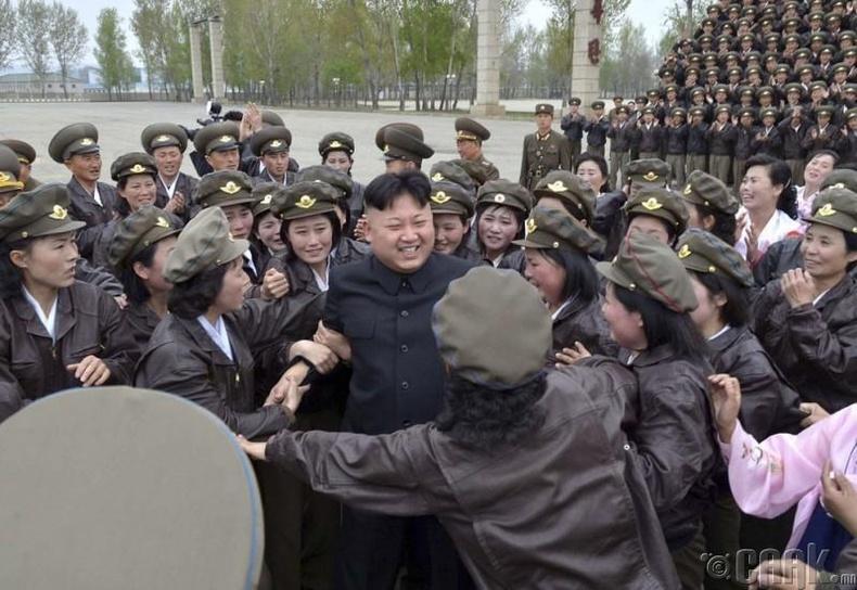 Солонгосын Армийн армийн нисгэгчдийн анхдугаар уулзалт, 2014 оны 4 сарын 17
