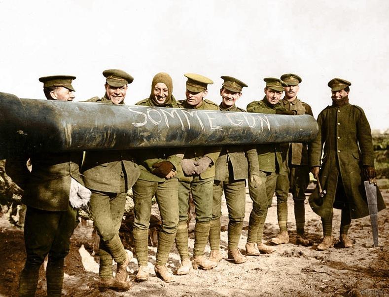 Эзэн хааны нэрэмжит артиллерийн сумангийн цэргүүд, 1916 он
