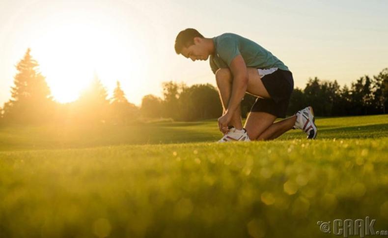 Өдөрт нэг удаа 30 минут дасгал хийх