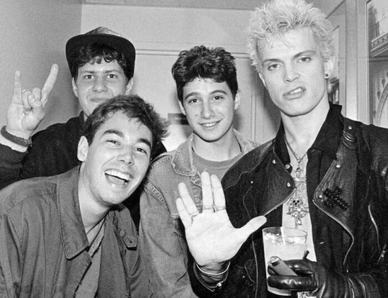 The Beastie Boys, Billy Idol-ийн хамт, 1986 он.