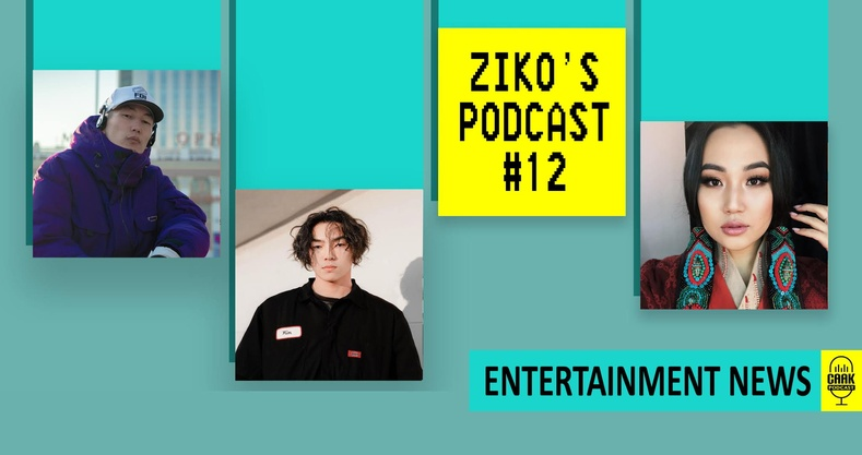 Ziko's podcast #12 - Entertainment News!