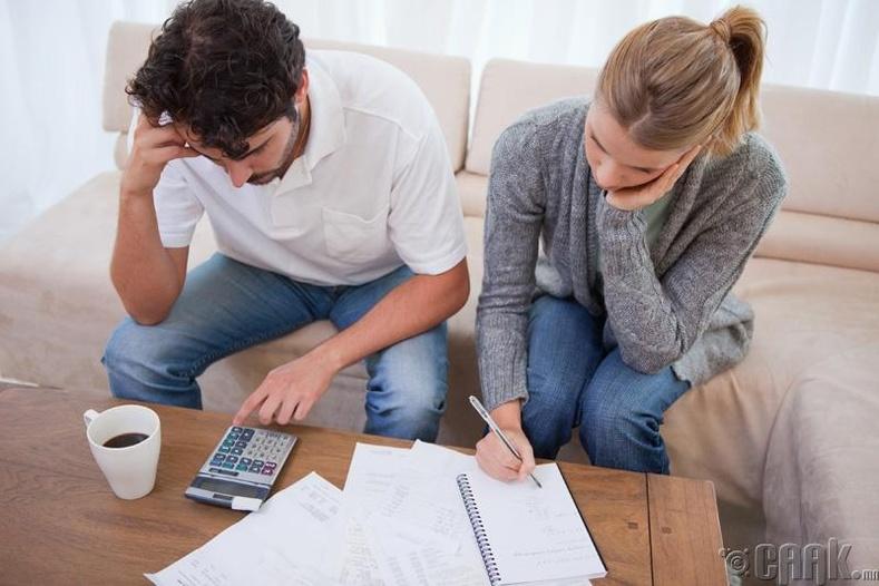 Санхүүгийн асуудлаас үүдэлтэй стресс бухимдал