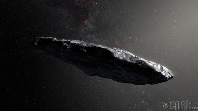 Нарны аймагт галактикаас гаралтай биет илрүүллээ