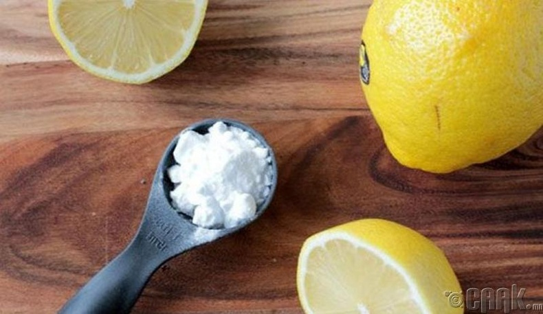 """""""Лимон болон содаар үрэх"""""""