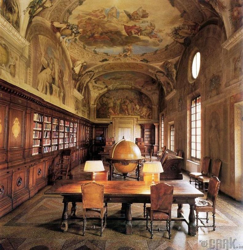 Ортопедийн номын сан, Болонья, Итали