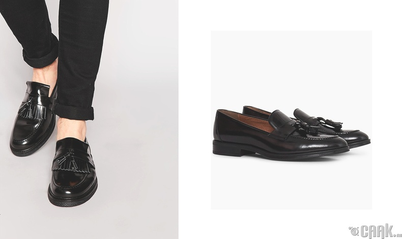 Зөөлөн арьсан гутал (loafers)