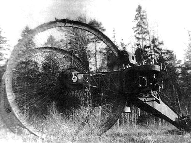 Царь танк - 1915 он