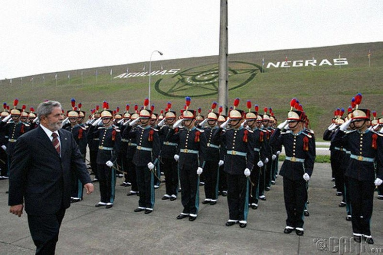 Агульяс Неграсын цэргийн академи (Academia Militar das Agulhas Negras) - Бразил
