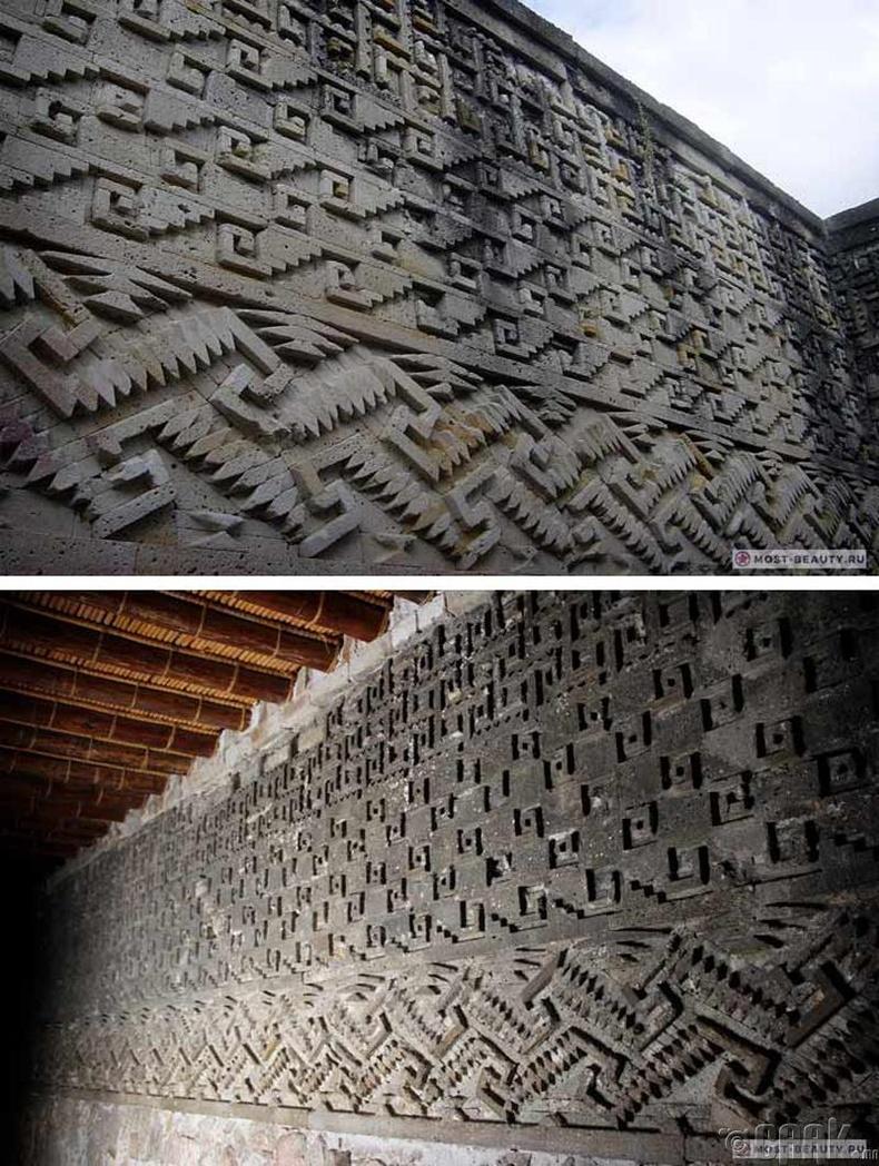 Мексикийн Митл дэх нууцлаг мозайк