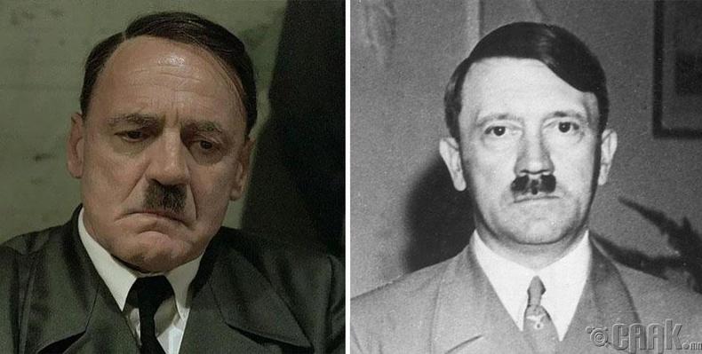 """Бруно Ганз - """"Downfall"""" кинонд Адольф Гитлерийн дүр"""