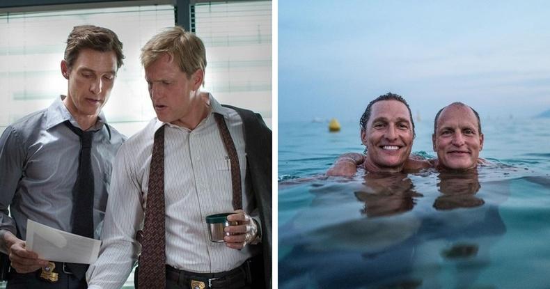 """""""True Detective"""" цувралд хамт тоглосон Мэтью Макконахи, Вүүди Харрелсон нар"""