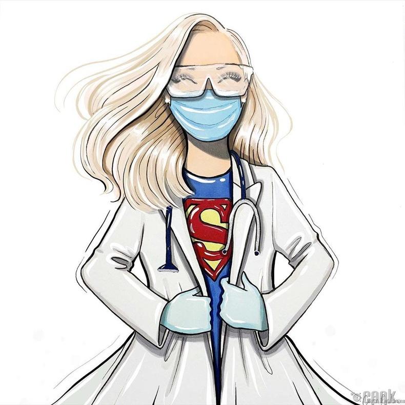 Эмч бол жинхэнэ супер баатар