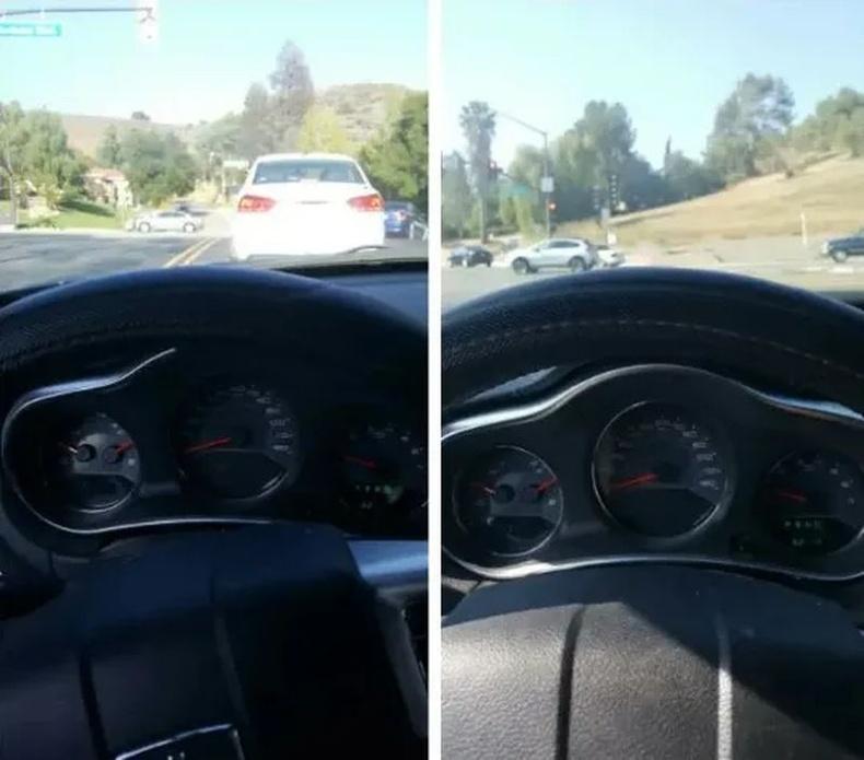 Жижиг биетэй жолооч доороо дэр тавьж суухаас өөр аргагүй.